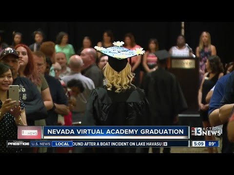 Dozens of Las Vegas valley students graduate from Nevada Virtual Academy