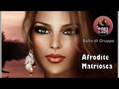 AFRODITE  e Matriosca - BALLO DI GRUPPO - BALLO DI COPPIA   - Tutorial - Easydance Coreografia