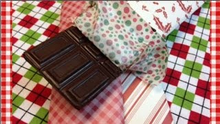 Homemade Milk Chocolate Bars ~ Gifts from Noreen