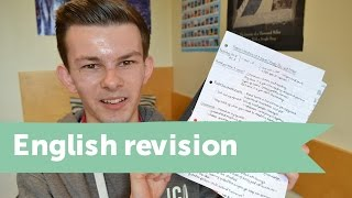 How to revise for A-level English