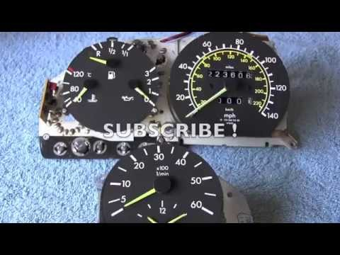 Mercedes Instrument Cluster Disassembly