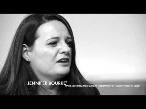 Jennifer Bourke, Third Secretary/Press Officer, Dept Foreign Affairs