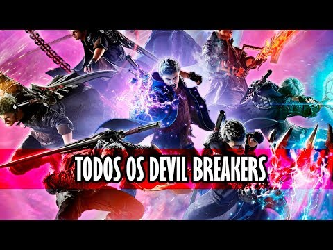 Devil May Cry 5 - TODOS OS DEVIL BREAKERS!!!