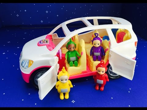 TELETUBBIES Toys Fisher Price Van Ride!