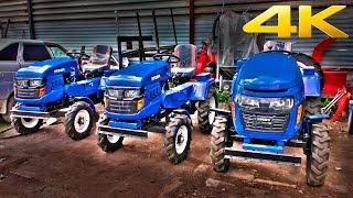 Самые дешевые тракторы в России - Русич Т-12, Т-15 и Т-220. Обзор, запуск двигателя 2018