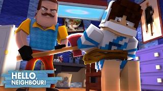 Minecraft: HELLO NEIGHBOR - O VIZINHO ME SEQUESTROU!