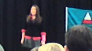 """Kate Evans Eisteddfod 2011- """"Ar y ffordd wrth fynd i Rymni"""""""