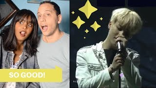 BTS JIMIN, JIN & V ACOUSTIC VERSION SPECIAL (BTS REACTION)