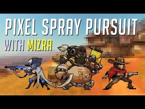 OVERWATCH Pixel Spray Pursuit - Ana/Roadhog/McCree