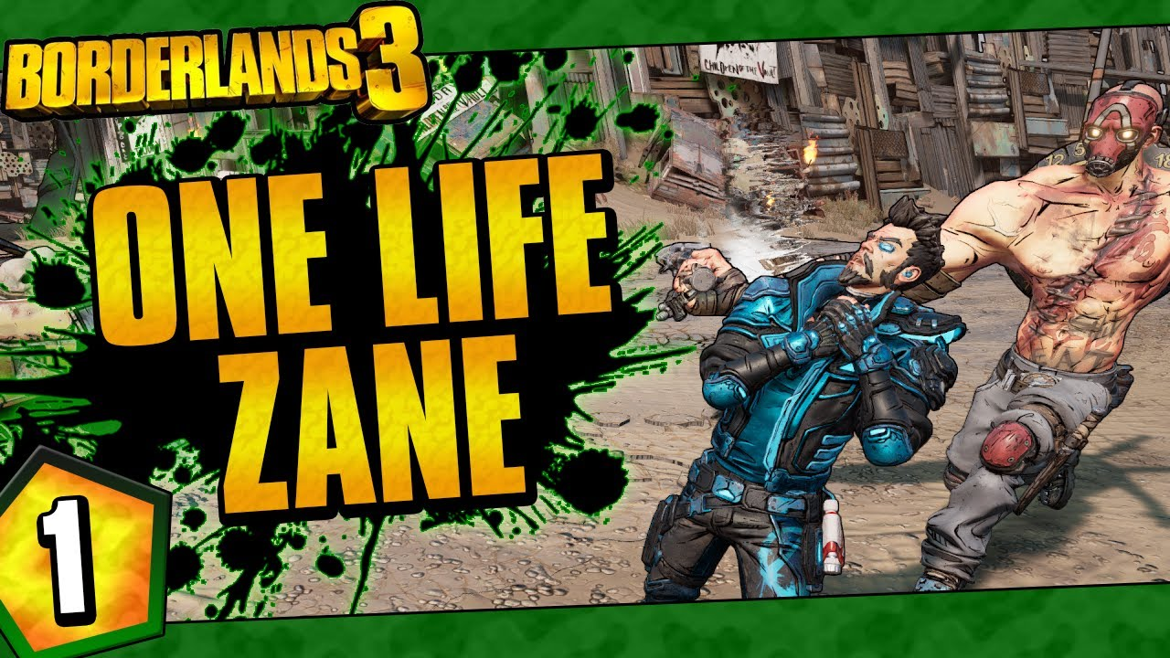 Borderlands 3 | One Life Zane Funny Moments And Drops | Day #1 thumbnail