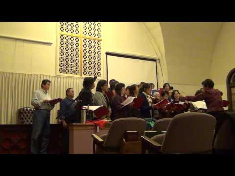 Joyous Chorus rehearsal 10-2-2014