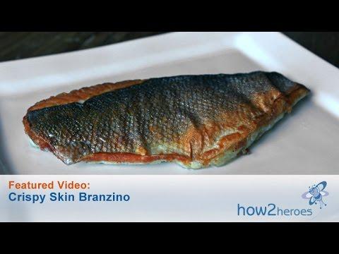 Crispy Skin Branzino