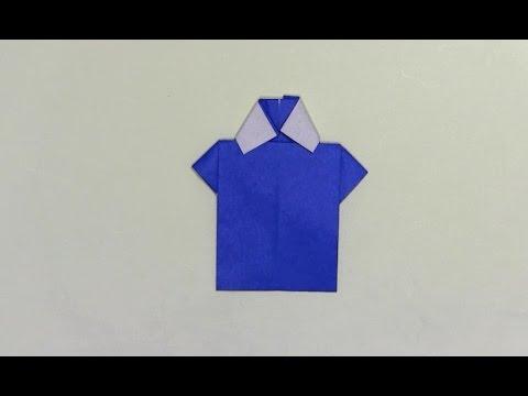 ハート 折り紙:折り紙 服 折り方-youtube.com
