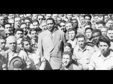 Paul Robeson in live performance at The Royal Albert Hall 1958