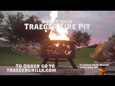 Outdoor BBQ Fire Pit by Traeger Grills