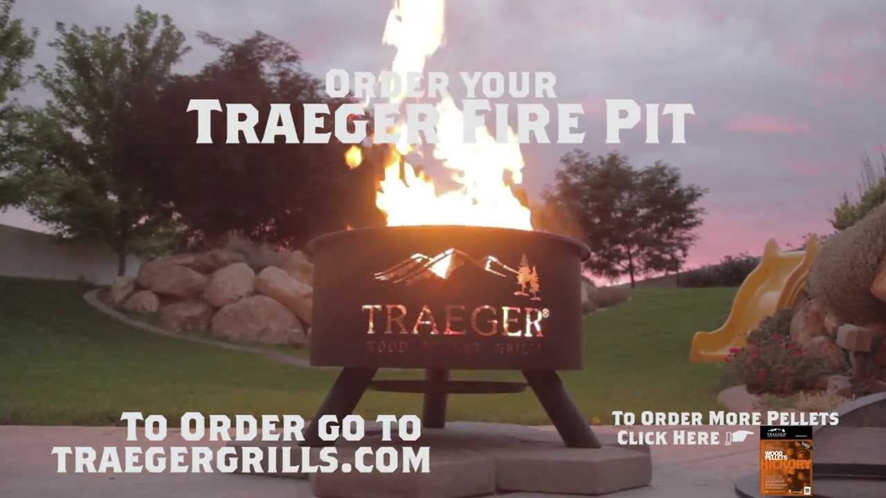 Outdoor BBQ Fire Pit by Traeger Grills - Outdoor BBQ Fire Pit By Traeger Grills - YouTube