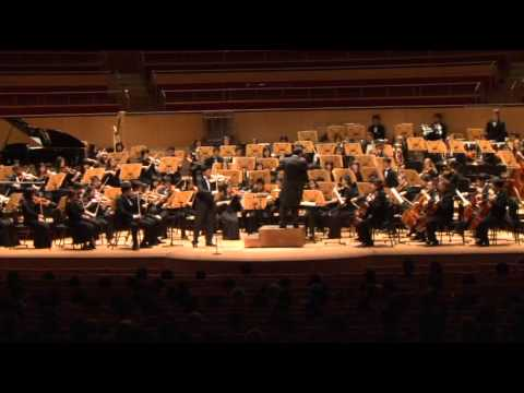 Pacific Symphony Youth Orchestra- Mendelssohn Violin Concerto in E Minor, Op 64 - David Chang