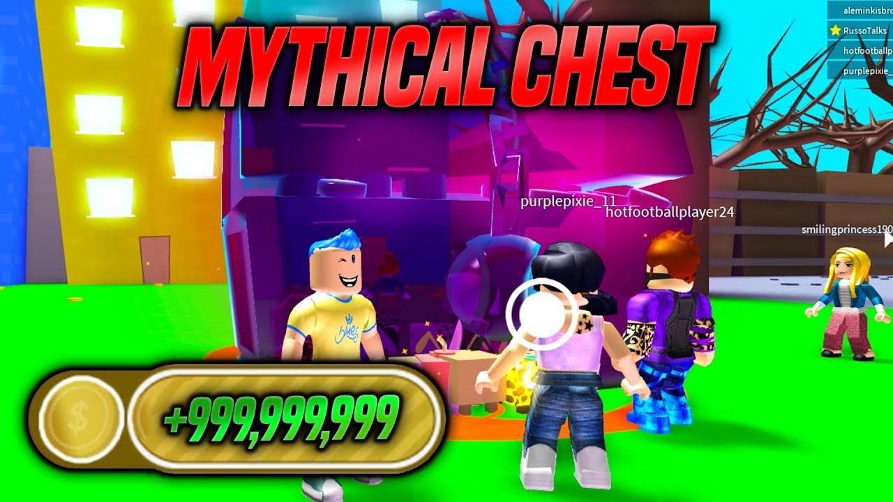 Becoming The Richest Player In Pet Simulator Mythical Chest
