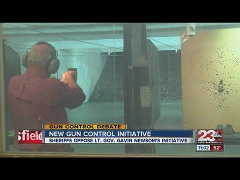 New Gun Control Initiative