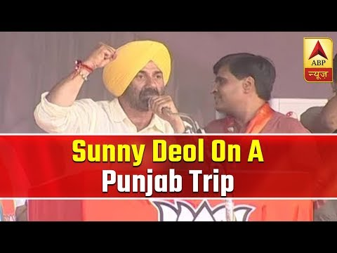 Sunny Deol On A Punjab Trip   ABP News