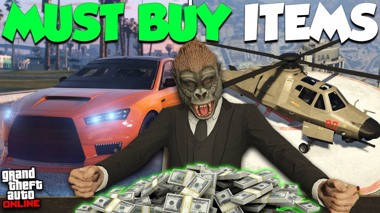 TOP 10 BEST THINGS YOU CAN BUY IN GTA ONLINE! (2021)