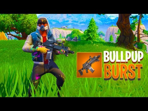 NEW Legendary BULLPUP BURST Assault Rifle in Fortnite.. thumbnail