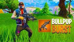 NEW Legendary BULLPUP BURST Assault Rifle in Fortnite..