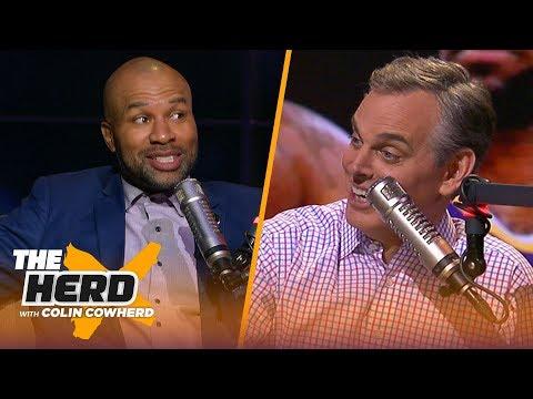 Derek Fisher on Kobe friendship, talks Lakers & Steph Curry translating in any era   NBA   THE HERD