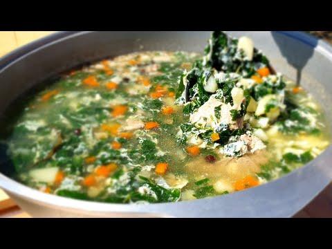 Суп из крапивы (щавеля) 😋 Мало ЩИ готовят с яйцом, а ЗРЯ! (А можно заменить?) | Еда на любой вкус