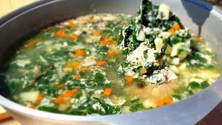 Вот ЭТО суп, а вы из НЕЁ готовите? Нам и 7 литров не хватает