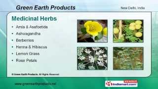 Medicinal Herbs by Green Earth Products New Delhi