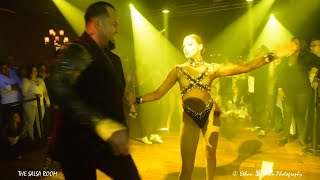 ZAFIRE DANCE COMPANY NY Interviewed By NOELIA & Salsa Dance Performance At THE SALSA ROOM
