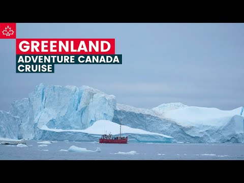 THE BIGGEST ICEBERGS We've Ever Seen! Our Visit To GREENLAND With Adventure Canada.