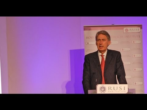 UK Defence Secretary Philip Hammond outlines reforms in Army