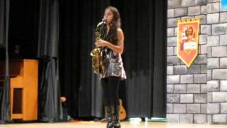 Careless Whisper Alto Sax Cover First Place Talent Contest by Shelbie Rassler