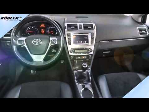 toyota avensis combi 2 0 d 4d executive youtube. Black Bedroom Furniture Sets. Home Design Ideas