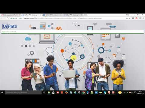 #UiPath-Step by Step-How to Register and get free certification for RPA  developer