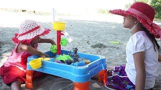 Jessica Jenica Main Pasir di Pantai 💖 Sand & Water Table Toy for Kids 💖 Mainan Anak Let's Play