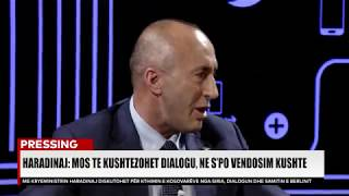 PRESSING, Ramush Haradinaj - 24.04.2019
