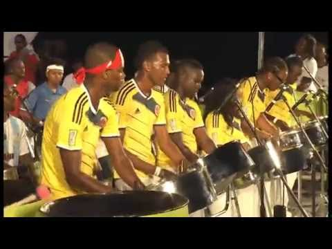 Mosaic Steel Orchestra (Barbados) - Treasure/Get Lucky [Pan
