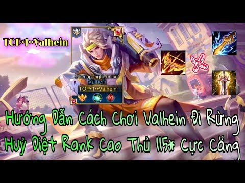 TOP 1 VALHEIN HƯỚNG DẪN CÁCH ĐI RỪNG RANK CAO THỦ 115* CỰC CĂNG
