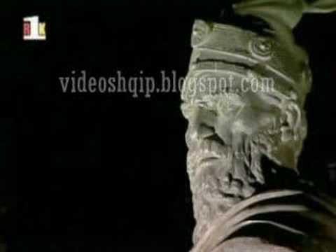 Skanderbeg Statue in Prishtina Kosova