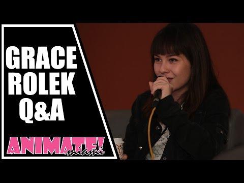 Steven Universe Connie, Grace Rolek Q&A at Animate Miami 2015