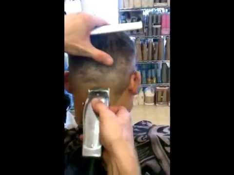 Jason Clipper Cutting Petes Haircut Fade Into A Radial 1 14
