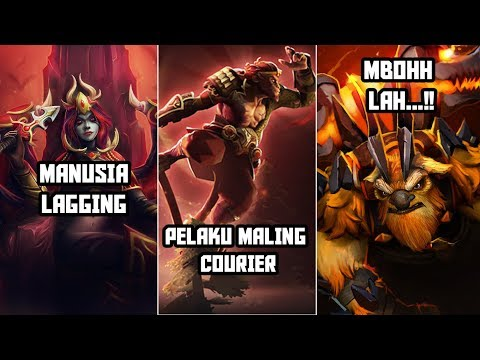 Misteri Hilangnya Courier - Dota 2 Indonesia