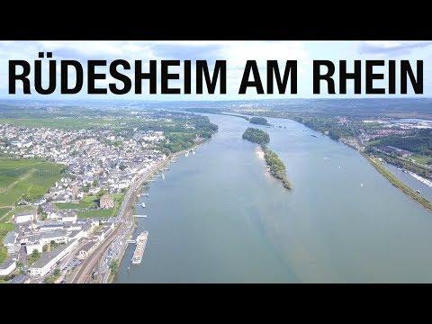 A trip to Rüdesheim | Rhein, wine, and flyin' | Mavic Pro 4K