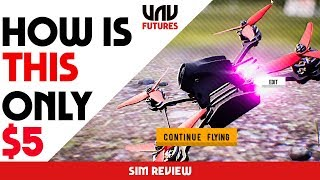 NEW $5 FPV Sim made ENTIRELY by 1 PERSON - FPV AIR 2