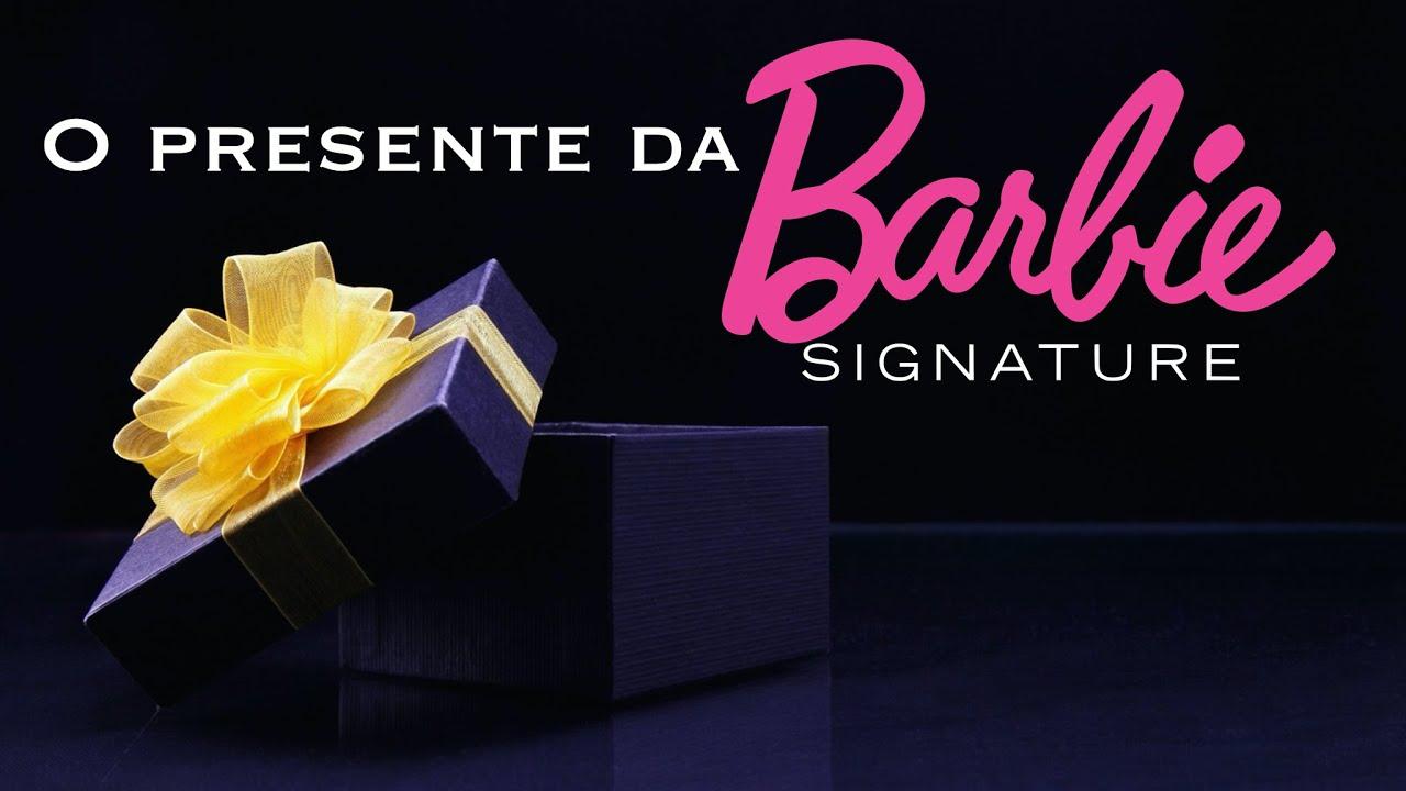 Pacote de sapatos oficial Barbie Signature