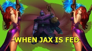 WHEN JAX IS FED