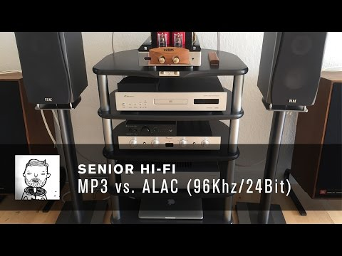 MP3 vs ALAC 96 Khz 24 Bit